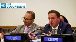 HE Ambassador Mr Brian Flynn, Deputy Permanent Representative of Ireland to @UN