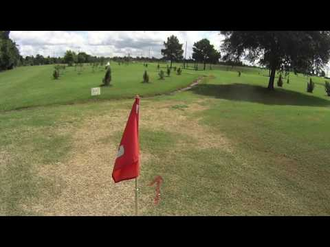 Footgolf Michael and Jeremiah part 1 on 06/10/2016 at Humble Oil Patch Golf Center