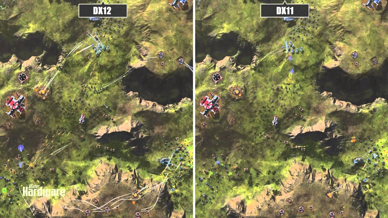 How different do games look in DX11 and DX12? Err… not very