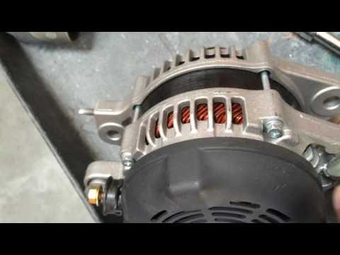 Lexus es 350 alternator removal