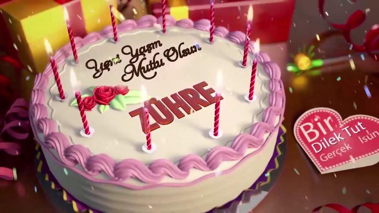 İyi ki doğdun ZÜHRE - İsme Özel Doğum Günü Şarkısı