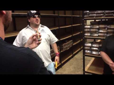 Tour of the Drew Estate Factory - Part One - Cigar Safari