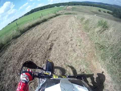 Ahrma McKee's Sky Ranch West Virginia Post Vintage Motocross Race 1