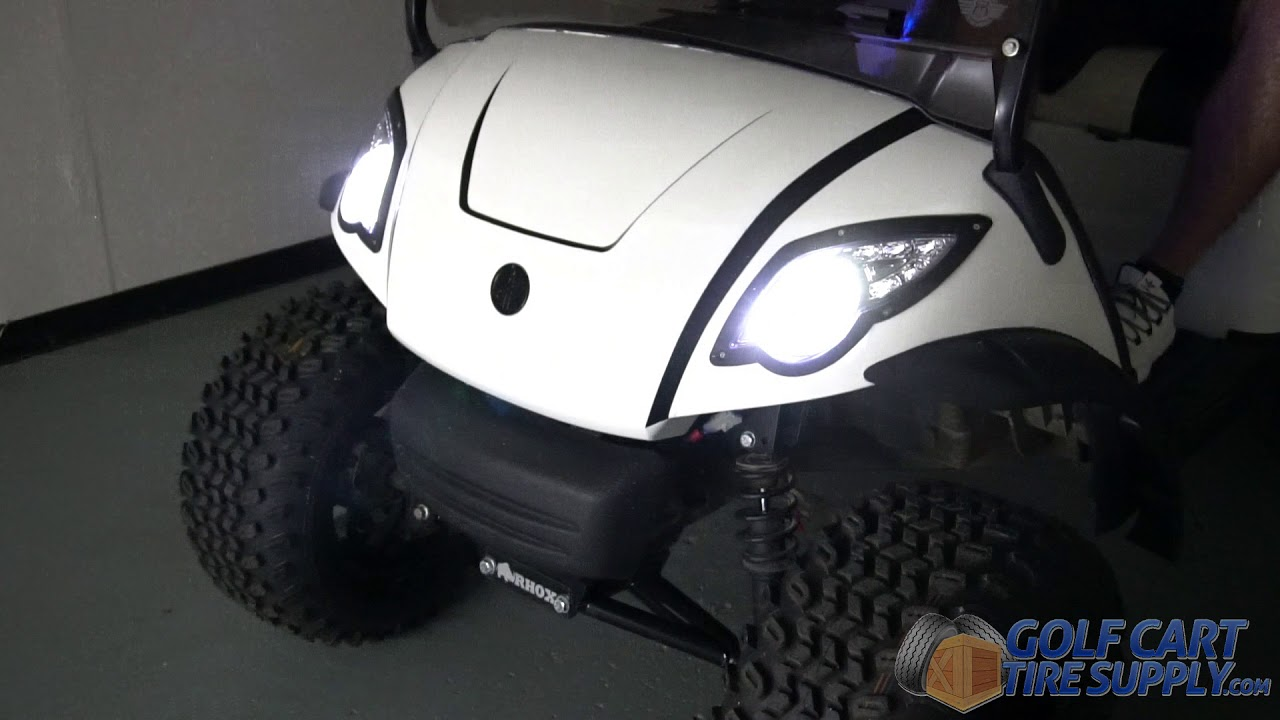 led bright white golf cart light kit for yamaha g29 drive golf cart tire supply [ 1280 x 720 Pixel ]