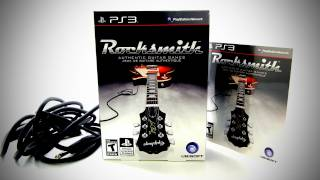 Rocksmith Unboxing (PlayStation 3)