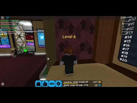 Roblox Escape Room Lobby Level Roblox Flood Escape 2 Hidden Room Music In Lobby Youtube