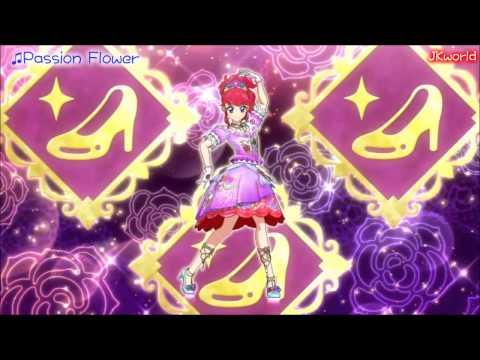 【HD】Aikatsu! - Passion Flower lyrics【中字】