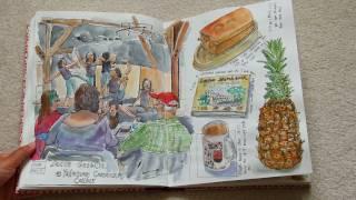 My Fabriano Venezia Sketchbook- January to May 2016