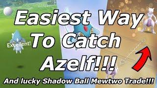 Easiest Way to Catch Azelf in Pokemon Go!!!