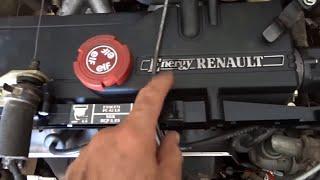 Moteur Renault clio 1 4 energy 1991 Carbu sinple Corps - محرك كليو