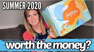 IS FABFITFUN WORTH THE MONEY? | FABFITFUN SUMMER 2020 UNBOXING & REVIEW