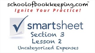 Handling Uncategorized Expenses in Smartsheet