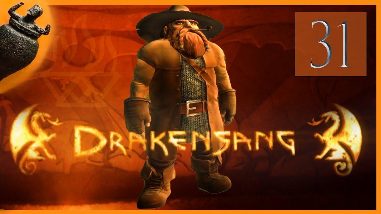 Let´s Play DSA Das schwarze Auge Drakensang [#31] Ausrüstung und Dranor ( Gameplay deutsch blind )