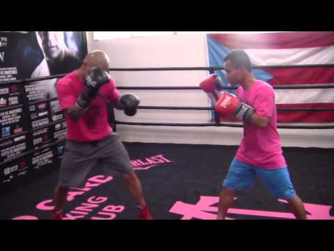 Miguel Cotto SPARRING vs Marvin Somodio!