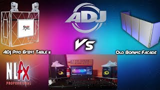 ADJ (American DJ) Pro Event Table II Review | Facade Vs Event Table II | New DJ Setup!