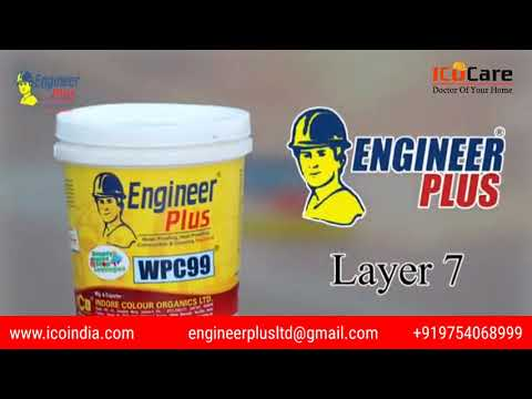 WHY WATERPROOFING (ENGLISH) | 7 LAYER WATERPROOFING | WATERPROOFING PROCESS IN ENGLISH | ICO CARE