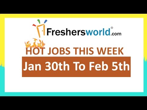 Freshersworld Hot Jobs Of The Week-(Jan 30th  To Feb-5th) –Godrej Infotech,Spices Board,CMS,Extrieve