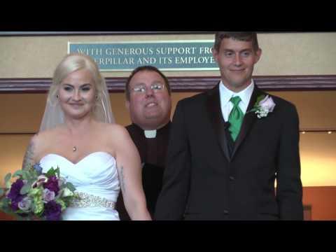 Justin and April Cornwell Wedding Video  07.07.17
