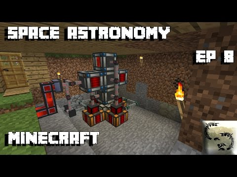 Modded Minecraft: Space Astronomy Ep 8 EASIEST INFINITE POWER (EARLY GAME)