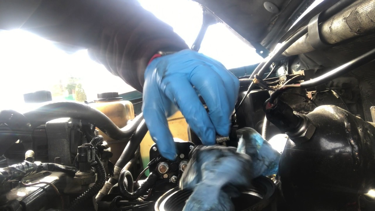 Powerstroke Fuel Filter Light Youtube