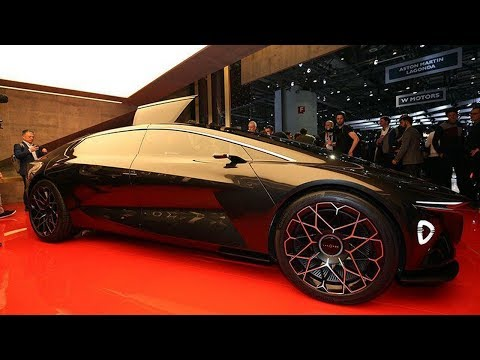 Lagonda Vision Concept First Look & Review : Future Luxury By Aston Martin