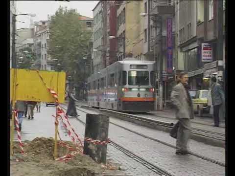 ISTANBUL TRAMS SEPTEMBER 1998