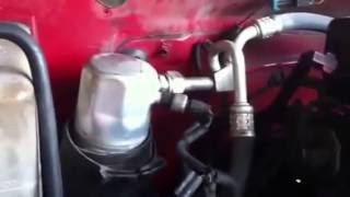 Trick for Replacing AC Accumulator from 1996 Chevrolet Suburban (Remove Seized Threads)