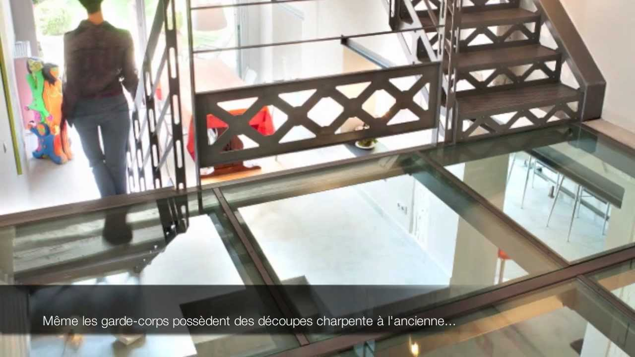 Escaliers Decors Escalier Charpente Style San Fracisco Mov Youtube
