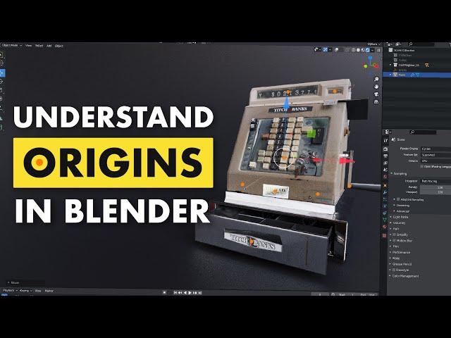 Understanding the Origin Point in Blender