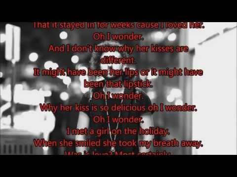 Jakubi Holiday Lyrics on screen! HD