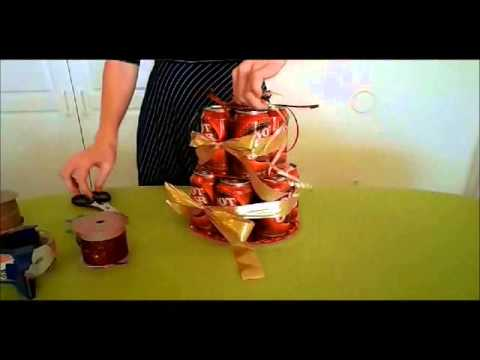 The 12 Pack Can Cake Tutorial Birthday Gifts For Men From