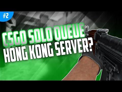 Hong Kong Server!? - CSGO - Solo Queue!