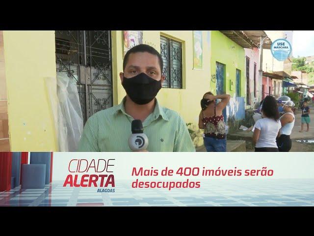Mais de 400 imóveis serão desocupados no Pinheiro e Bebedouro