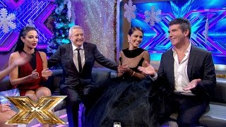 Sarah-Jane catches up with the Judges | The Xtra Factor UK | The Xtra Factor UK 2014