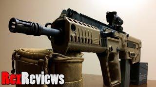 TAVOR X95 with Trijicon TA44 ACSS ~ Rex Reviews