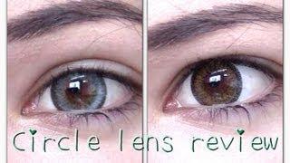 Grey & Brown Circle Lens review & COUPON CODE ft. PinkyParadise