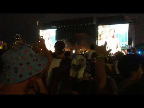 Chance the Rapper opens his set at Lollapalooza 2017 Grant Park CHICAGO