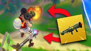 CAN YOU SHOOT A GUIDED MISSILE FROM A GUIDED MISSILE?! | Fortnite Battle Royale Funny Moments
