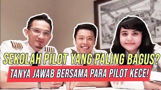 PILOT DIARY VLOG - Tanya Jawab Bersama Selebgram Pilot Ganteng Dan Pilot Cantik