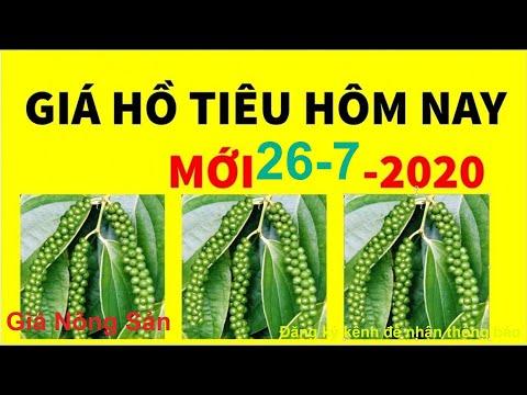 Giá Hồ Tiêu hôm nay ngày 30 tháng 6 năm 2020, giá tiêu 30 6 from YouTube · Duration:  2 minutes 1 seconds