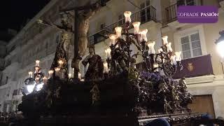 Stmo. Cristo del Perdón por el Campo del Sur, C/ Nueva y C/ Pelota (Semana Santa de Cádiz 2019)