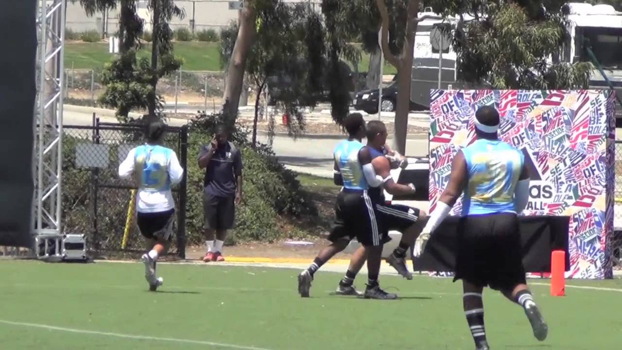 Adidas 7on7 Passing Tournament Long Beach Poly Los Alamitos