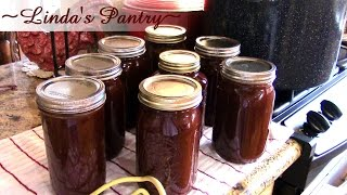 ~Home Canned Sweet & Spicy BBQ Sauce With Linda's Pantry~