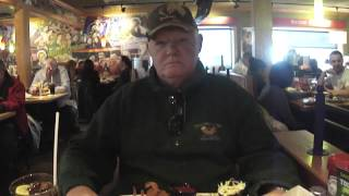 Alex Robertson Joins Me For A Free Lunch On Veteran's Day 2013 At Applebee's In Kearny, NJ
