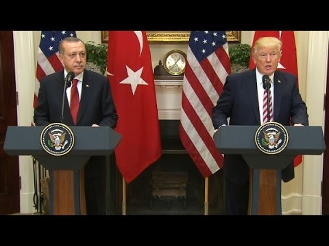 Trump meets with Turkey's Erdogan (full event)