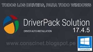 descargar driverpack solution 17.4.5 full en español | windows 10