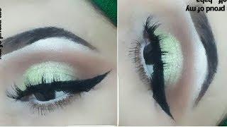 kashees insipired eye makeup look//makeup for mehndi brides_zainabnuman