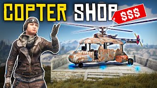 Running a HELICOPTER SHOP for PROFIT - Rust Shop Roleplay