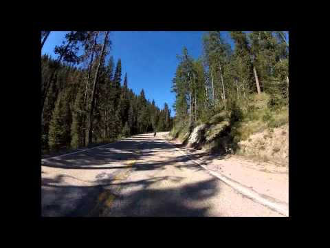 Lowman to Idaho City 7-21-12 GoPro Video