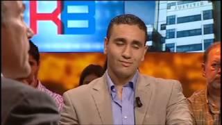 Debat: Ronny Naftaniel en Abdou Bouzerda (2009)